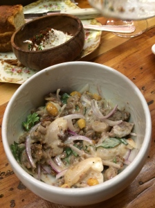 Pork Sausage, Habanero, and Lychee Salad
