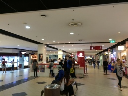 The mall on the 2nd floor